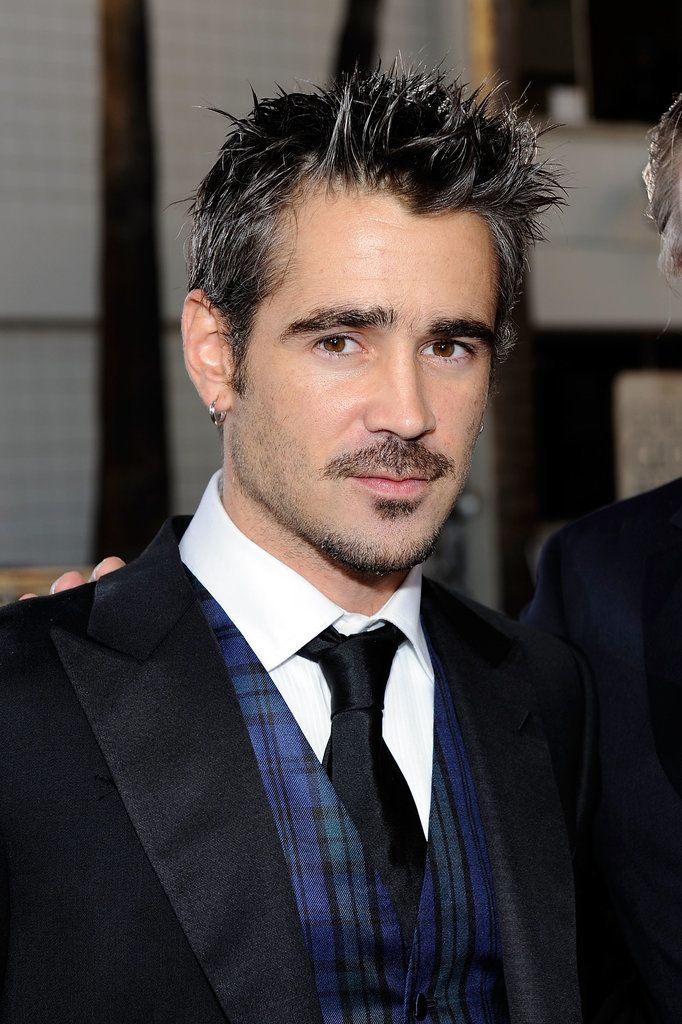 Colin Farrell really committed to the spiky hair fad of the late '00s.