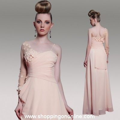 Light Pink Prom Dress - One Long Shoulder $146.40 (was $183) Click here to see more details http://shoppingononline.com/prom-dresses/light-pink-prom-dress-one-long-shoulder.html #LightPinkPromDress #PinkPromDress #LightPinkDress #LightPink #OneShoulderPromDress #PinkOneShoulder #OneShoulder #PromDress