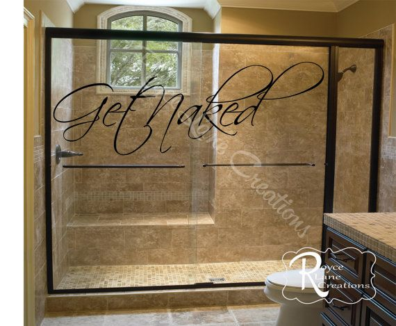 bathroom decal get naked bathroom wall by