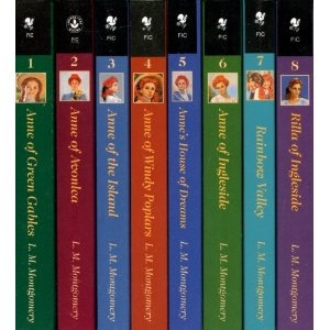 Anne of Green Gables series. A favorite from childhood.: Lm Montgomery, Anne Of Green Gables, Kids Books, Books Worth, Books Series, Boxes Sets, Favorite Books, Gables Boxes, Gables Series