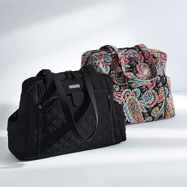 Made with moms in mind: Our new Diaper Bags will keep you organized and prepped for [almost] anything.