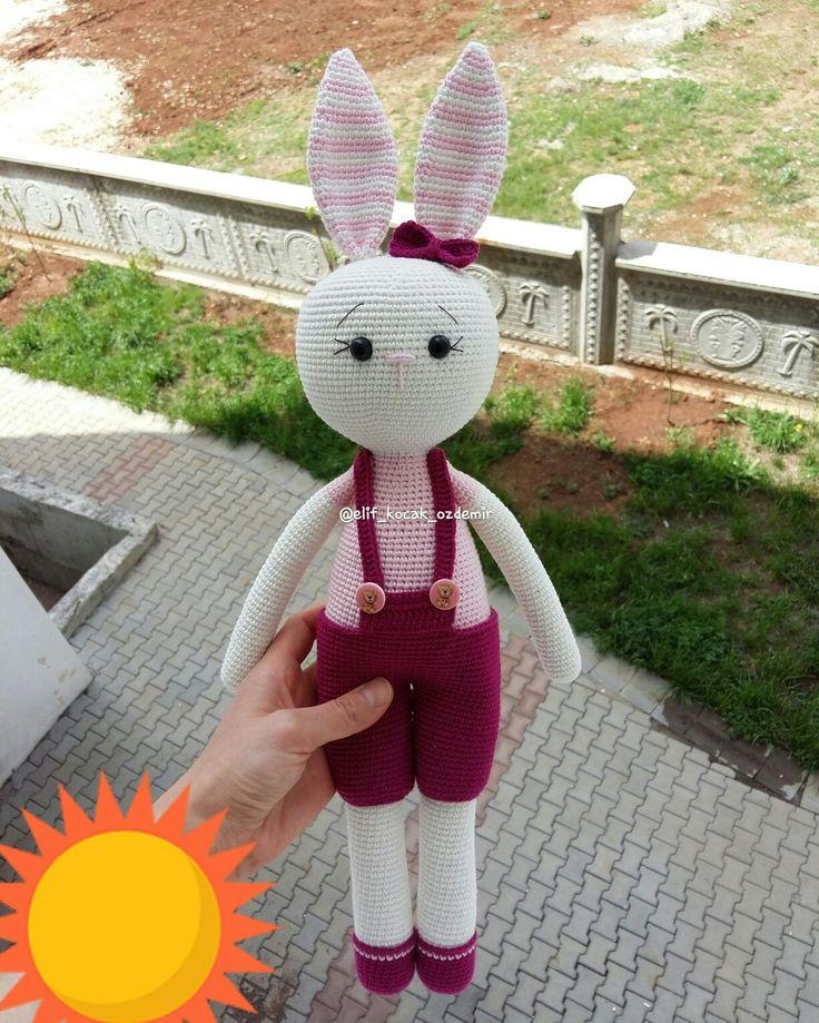 Amigurumi tavşan  Amigurumi bunny Amigurumi rabbit