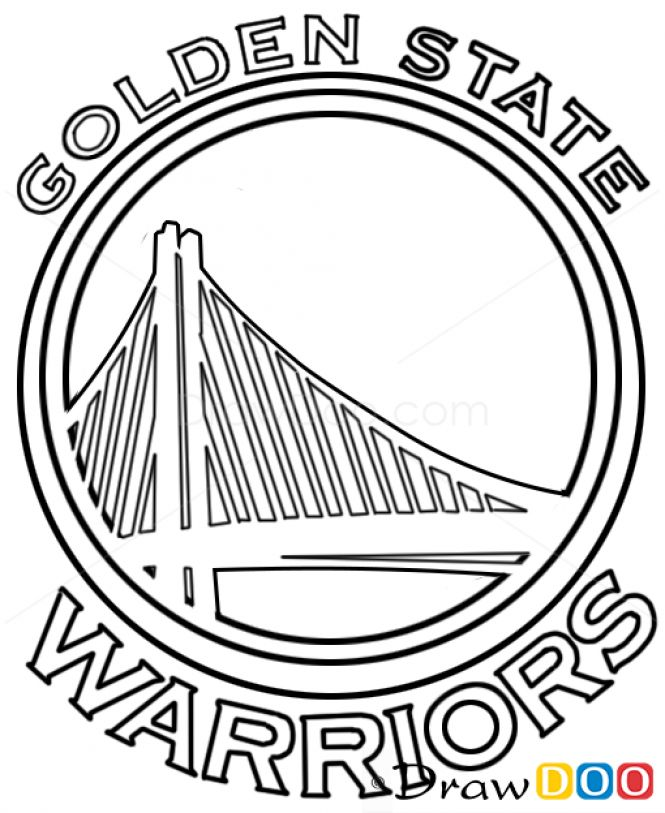 Image result for how to draw golden state warriors logo