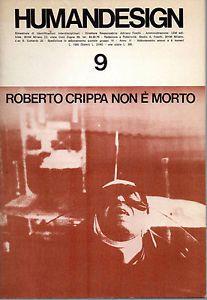 HUMANDESIGN rivista d'arte 1972 cover Roberto Crippa   eBay