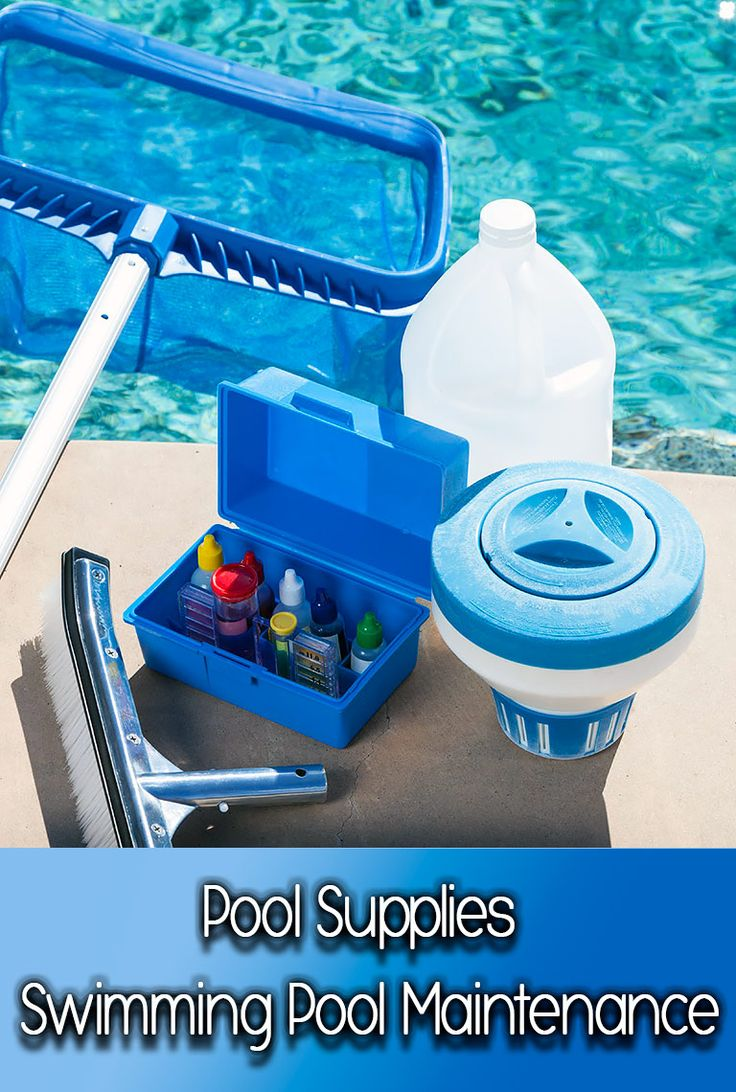 The 25 Best Pool Supplies Ideas On Pinterest Above Ground Pool Supplies Diy In Ground Pool