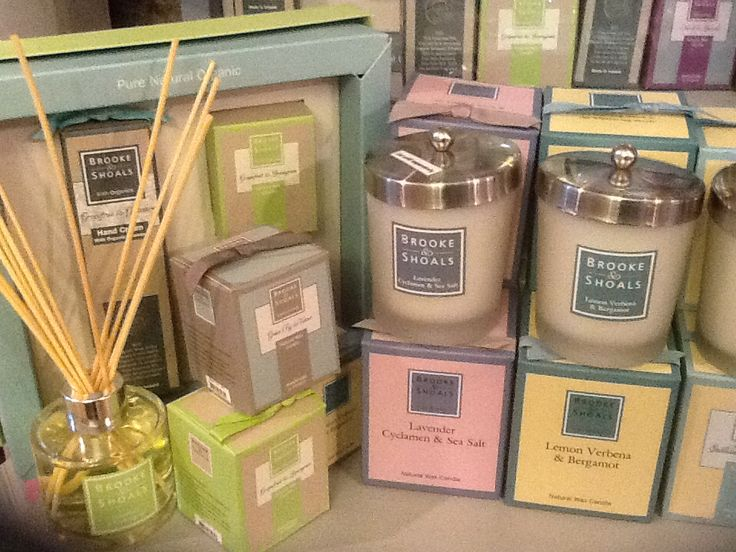 New scented candles from Brooke&Shoals