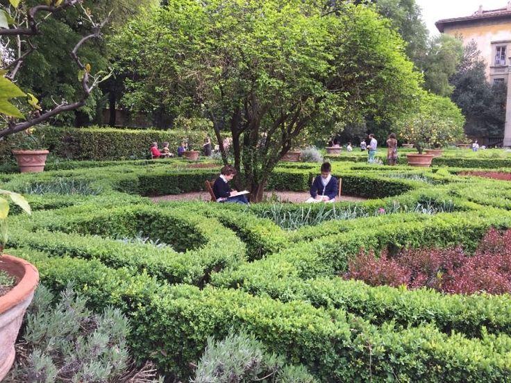 Fabriano, gli artisti del Big Draw al giardino Corsini