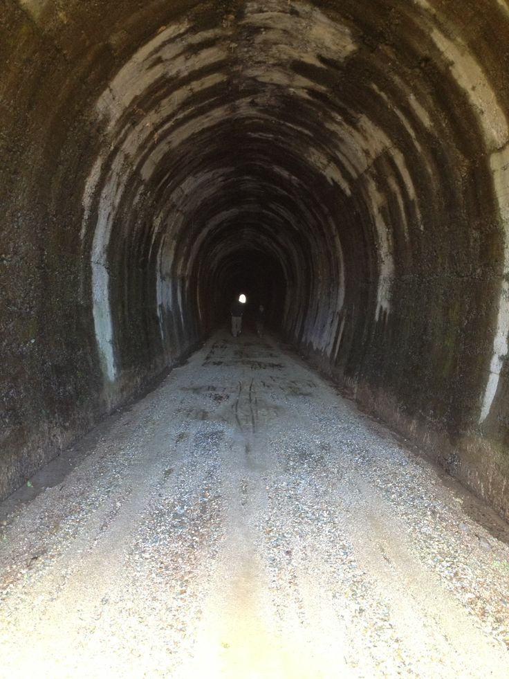 Clutha Gold Trail, Big Hill Tunnel.