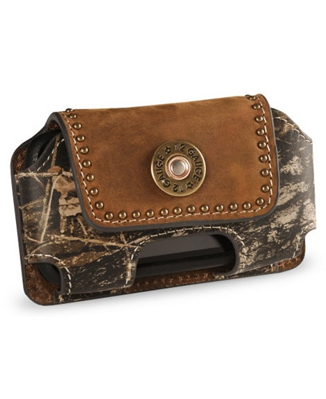 I know what's going on my Valentine's Day wish list! :)   Nocona Mossy Oak Camo Phone Case