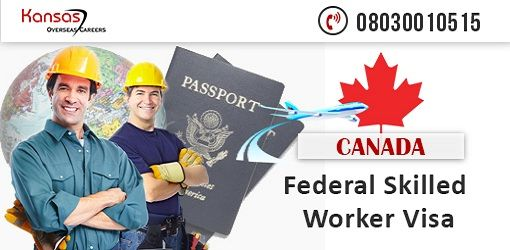 Canada choose skilled immigrants as #PermanentResidents based on their ability to settle in #Canada and take part in their economy. To know more details about Federal Skilled worker visa and its eligibility criteria, register @ https://www.kansaz.com/sm/canada-immigration/ or call 08030010515