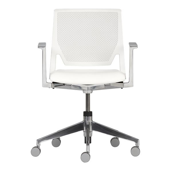 Haworth Very White Office Chair Made In Usa