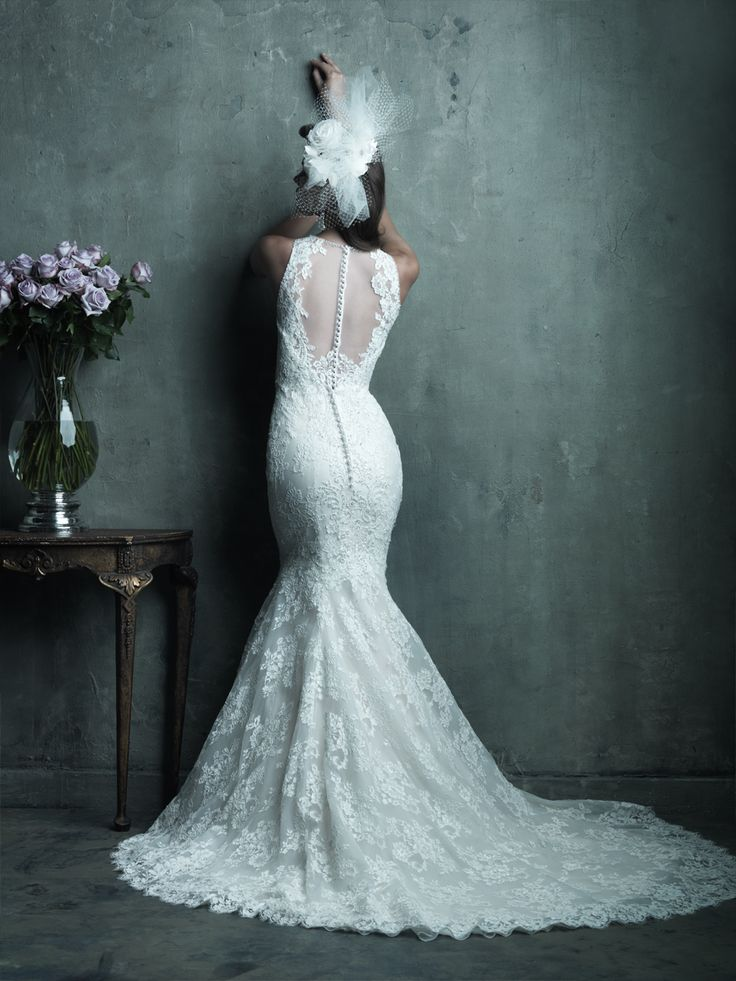 We love this wedding gown by Allure Couture (C280)!