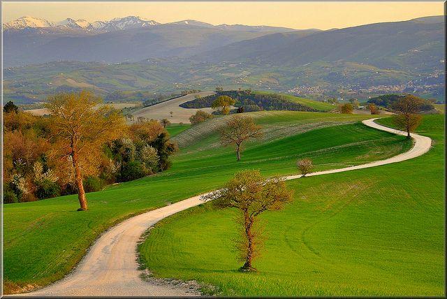 """""""Il vero viaggio di scoperta non consiste nel trovare nuove terre ma nel trovare nuovi occhi"""" - Proust Marche Italia"""