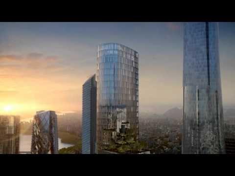 ▶ Yongsan International Business District; Block H [KPF] - DBOX - YouTube