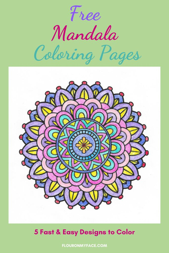 Free Mandala Coloring Pages In 2020 Mandala Coloring Pages Mandala Coloring Coloring Pages