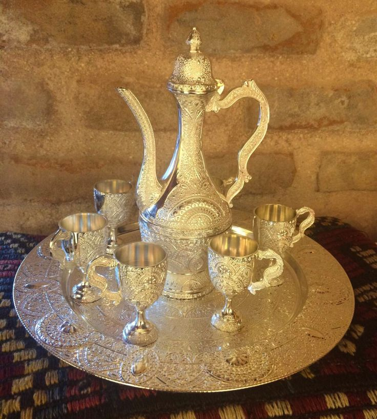ORIENTAL+TURKISH+COFFEE+SET+FOR+SIX Istanbul gift shop