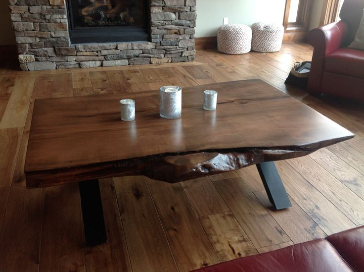 I Made My Round Kitchen Table Out Of Reclaimed Wood