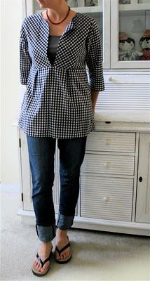 Tunics are so popular right now...must try this!