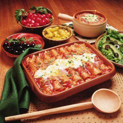 meatless monday is tomorrow. paul mccartney's vegan enchilada recipe is super yum.