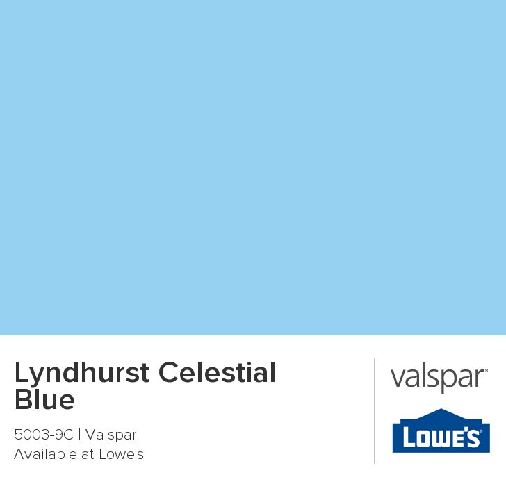 Lyndhurst Celestial Blue From Valspar Paint Colors Interiors Inside Ideas Interiors design about Everything [magnanprojects.com]