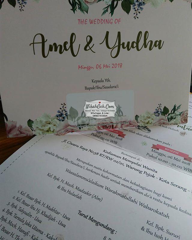 Http Bit Ly 2fs3tbh Wedding Invitation Amel Yudha Tanya Tanya Atau Info Lebih Lanjut Hubungi Wa 08561410064 Line Nikahgeh Desai Undangan Pernikahan
