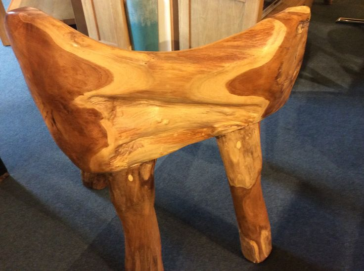 Rootwood Bench (image of back)
