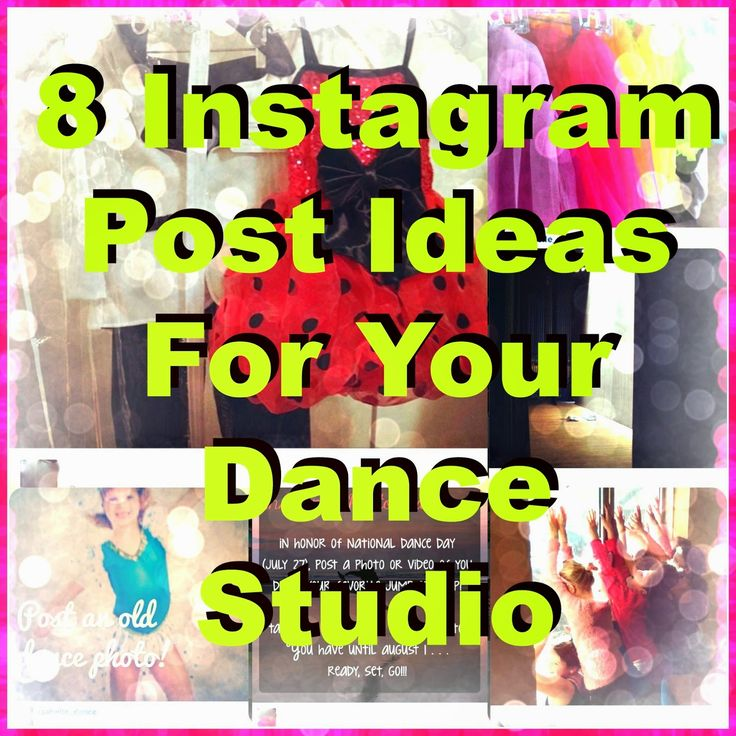 Is your dance studio or company on Instagram? Scared to take the leap? (dance pun intended) Here's a few tips on how to get started and what to post. Don't worry about posting daily &#…
