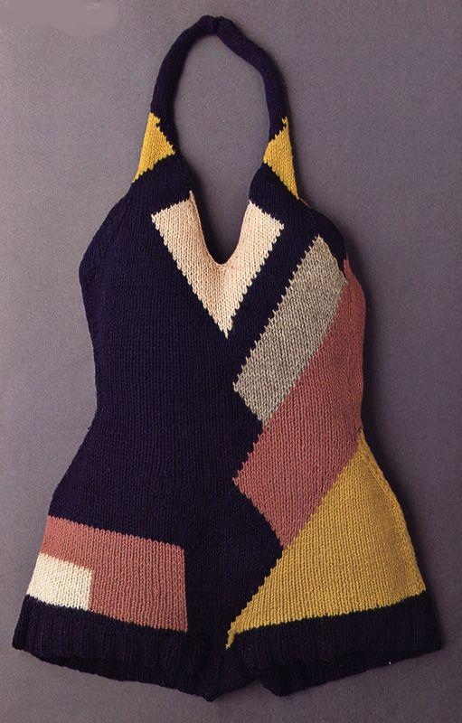 Tenue de sport de Sonia Delaunaym 1928 (swimsuit)