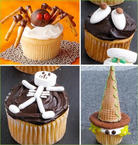 easy halloween cake ideas easy halloween cupcake decorating ideas my momma told me picture
