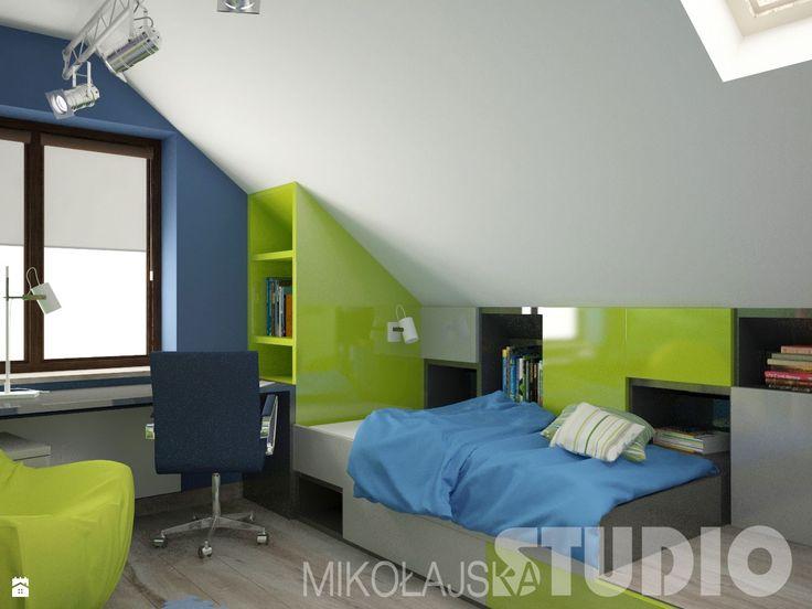 Nowoczesny pokój dla chłopca - zdjęcie od MIKOŁAJSKAstudio - Pokój dziecka - Styl Nowoczesny - MIKOŁAJSKAstudio