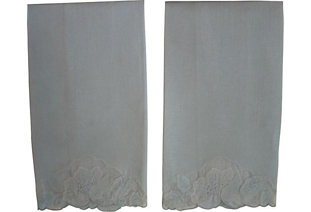 Pale Blue Hand Towels, Pair on OneKingsLane.com