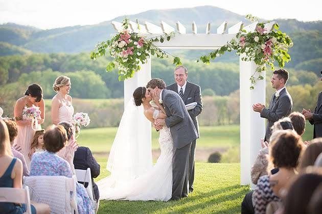 A Romantic Vineyard Wedding at Virginia's Pippin Hill Farm