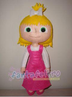 Fanta Feltro: Bambola Masha