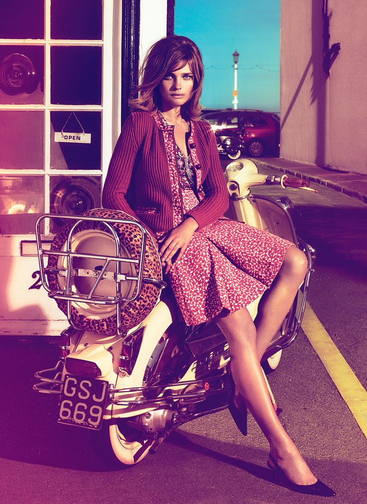 """Lambretta (Series 2?). """"Mod is about chrome & polish, about presenting the sharpest, shiniest you. (Whatever misdemeanors you've secretly been committing.) """""""
