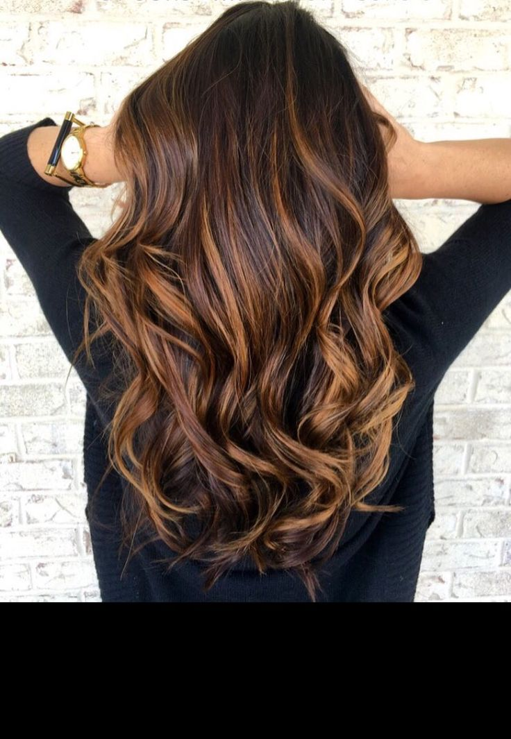 Rich caramel browns