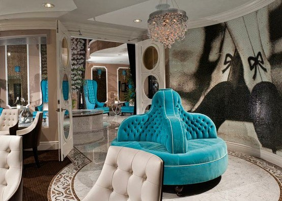 Hollywood regency glamour for the home pinterest for Hollywood glam decor