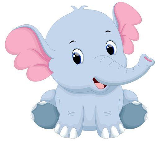 Cartoon elephant vector (15) [преобразованный].png