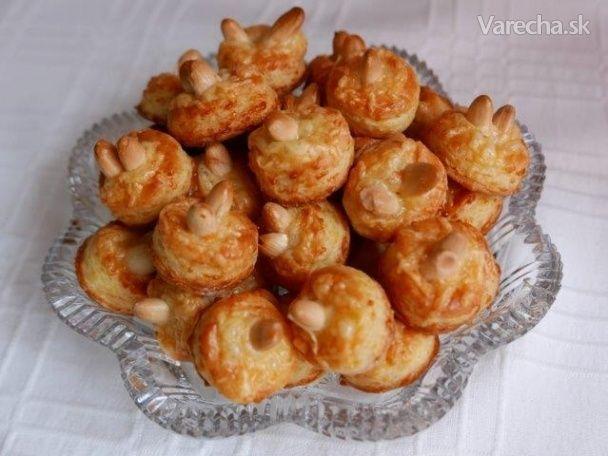 Syrové pagáčiky s mandľou (fotorecept)