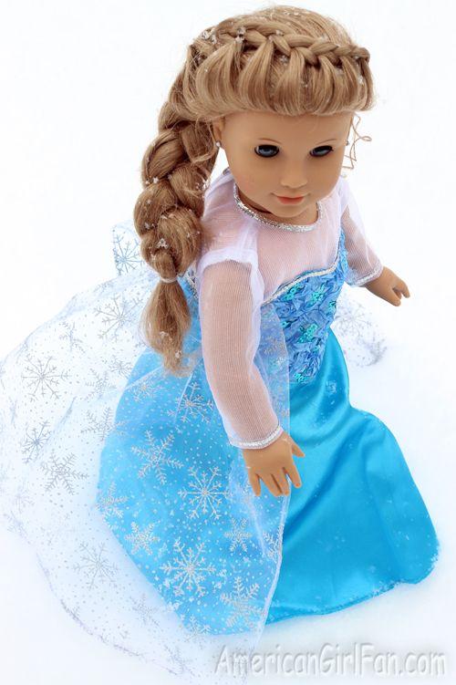 Frozen inspired braid