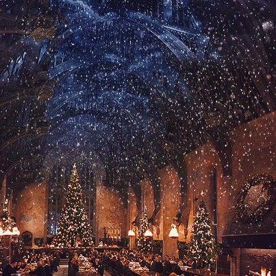 Hogwarts / Christ Church Oxford at Christmas: