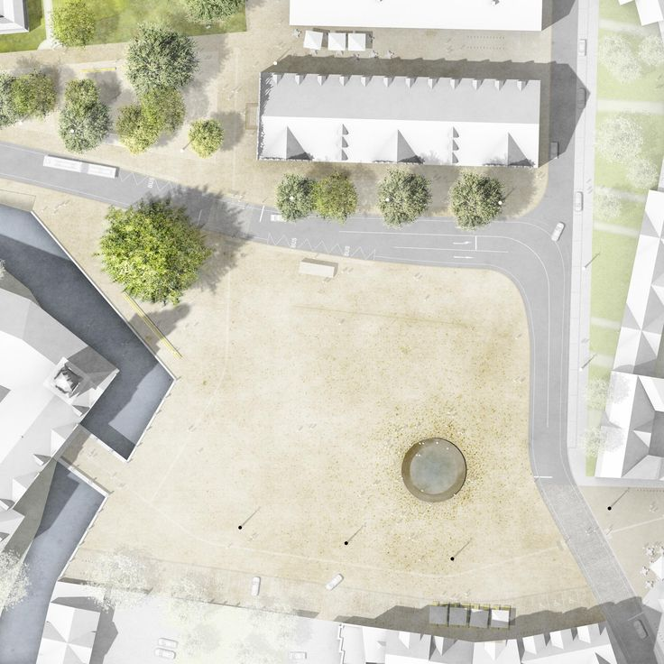 2. Preis: Schlossplatz, © Atelier LOIDL Landschaftsarchitekten Berlin GmbH