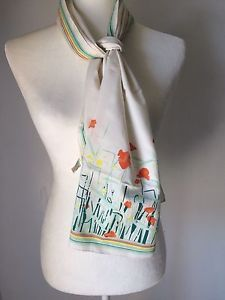 Vintage Rare St Micheal Floral Rectangle Wrap Shawl Scarf 11 1/2 X 54    eBay