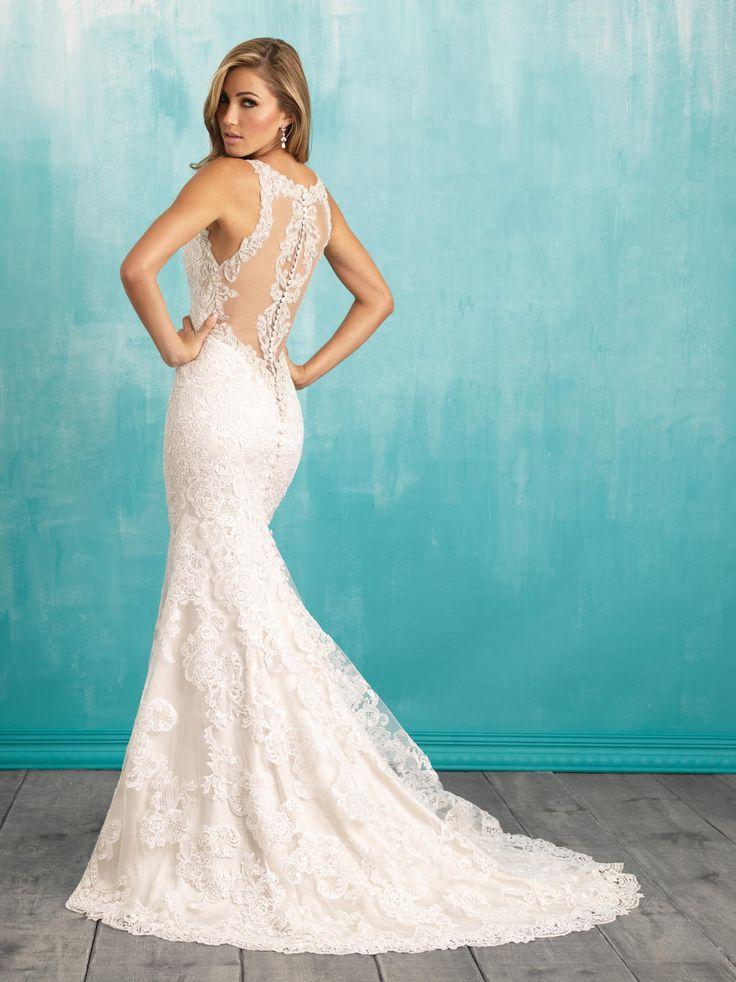 Allure wedding dress w284 allure