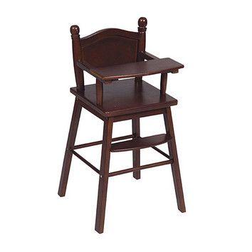 Guidecraft - Doll High Chair