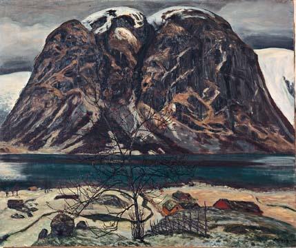 Nikolai Astrup (1880-1928), Norway - Kollen