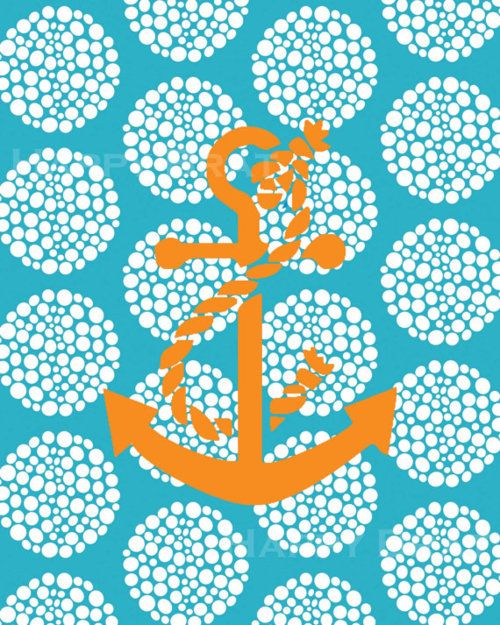 Anchors Aweigh, Favorite Things, Anchors Pattern, Google Search, Art, Pillows Pattern, Wall Prints, Pattern Anchors, Design