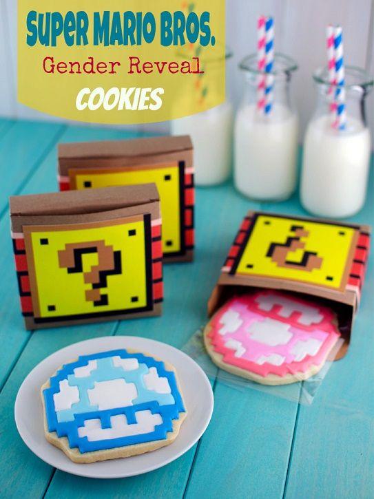 Super Mario Bros. Gender Reveal Cookies�and the Sweetstakes Winner!