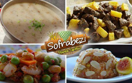 Ramazan Yemekleri 21 Gün İftar Menüsü - Sofra Bezi | Yemek Tarifleri | Kek Tarifleri | Resimli Tarifler