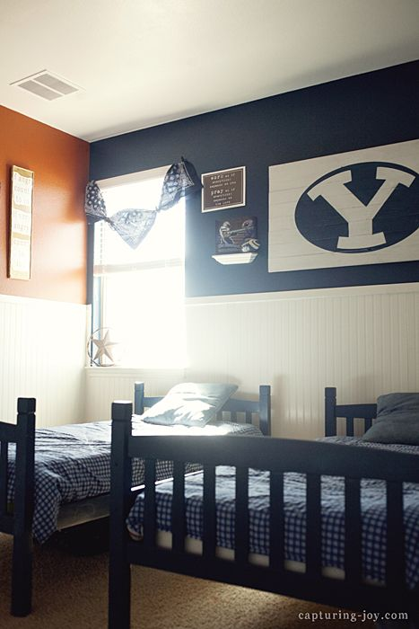 DIY Boys Room Reveal UT Vs BYU