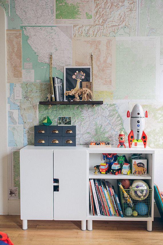 Woodsy, modern boys room for Holden | 100 Layer Cakelet | Bloglovin'